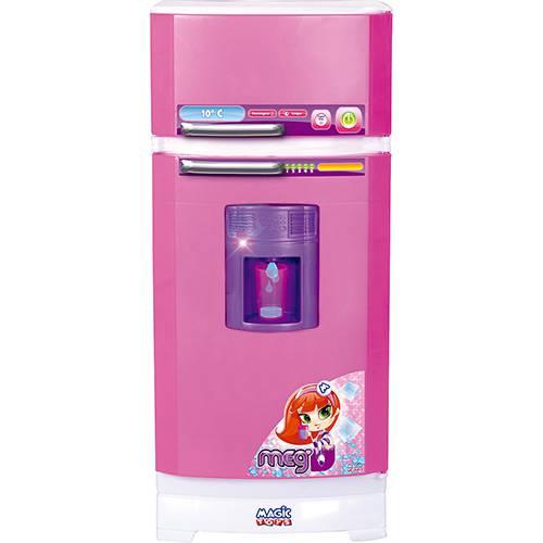 Tudo sobre 'Geladeira Mágica Magic Toys Rosa/Lilás'