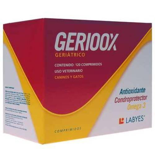Tudo sobre 'Geriox Condroprotetor e Anti Idade - 120 Comprimidos'