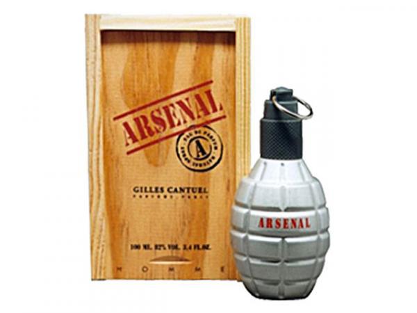 Gilles Cantuel Arsenal Grey - Perfume Masculino Eau de Parfum 100 Ml