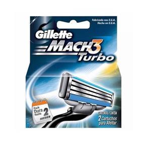 Tudo sobre 'Gillette Mach3 Turbo Carga - 2 Unidades'