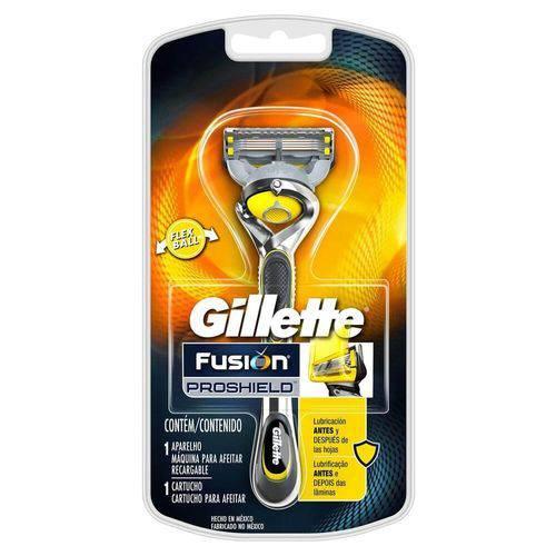 Tudo sobre 'Gillette Proshield Aparelho de Barbear C/1'