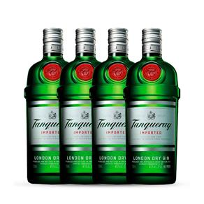 Gin Tanqueray 4x 750ml