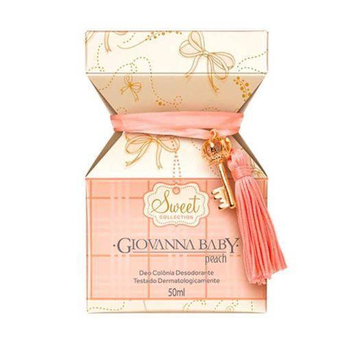 Tudo sobre 'Giovanna Baby Peach Colônia 50ml'