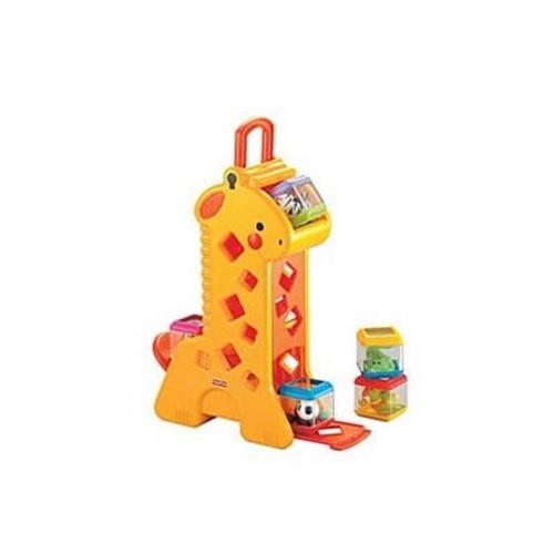 Tudo sobre 'Girafa Blocos Surpresa Mattel'