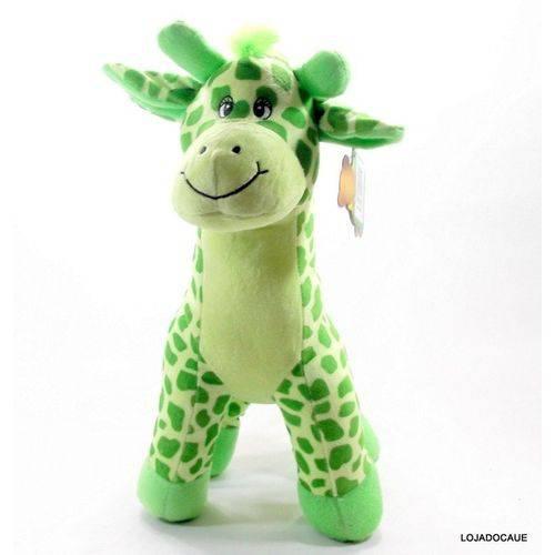 Tudo sobre 'Girafa de Pelucia 40 Cm Verde'
