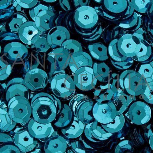 Tudo sobre 'Glitter PVC Azul 100G. Lantecor'