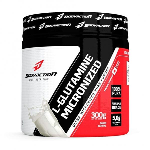 Glutamina (300g) - Body Action