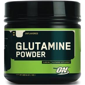 Glutamina 600g Optimum Nutrition Validade 30/08/2017 - Sem Sabor - 600 G