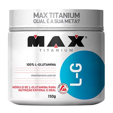 Glutamina L-G 150 G - Max Titanium