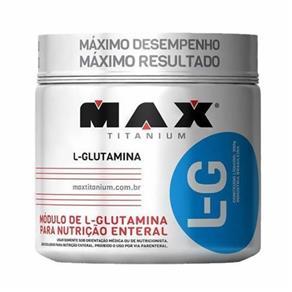 Glutamina L-G - 150g - Max Titanium