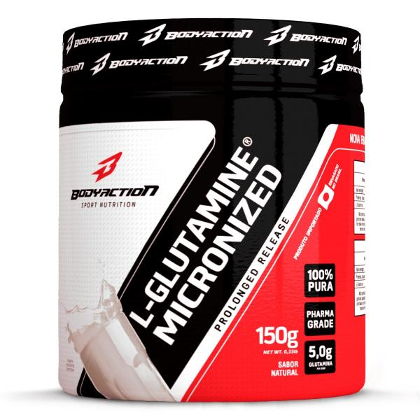 Glutamina L-Glutamine Micronized - Body Action - 150g