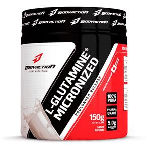 Glutamina L-Glutamine Micronized - Body Action - Natural - 150 G