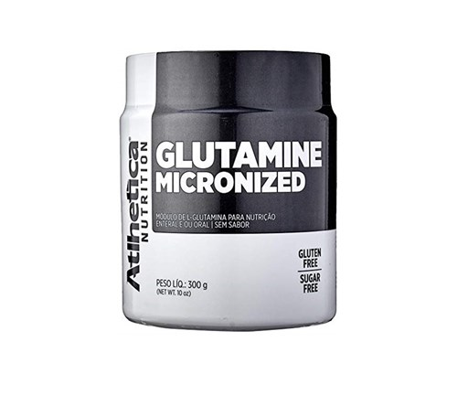 Glutamina Micronized 300g - Atlhetica