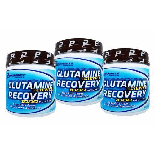 Glutamina Recovery 300g - Performance (3x)