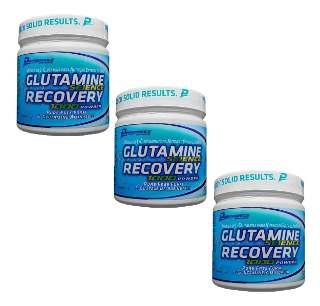 Glutamina Recovery 300g Performance 3x