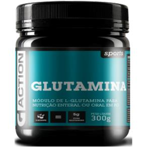 Glutamina Sports G-Action - SEM SABOR - 300 G