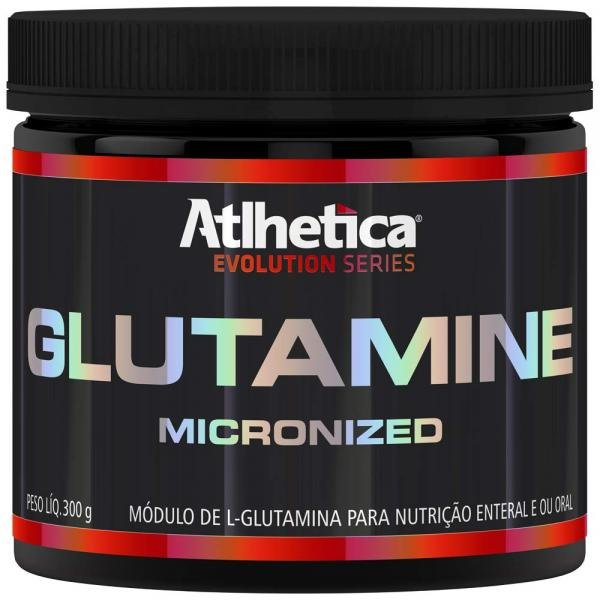 Glutamine - Micronized - 300G - Atlhetica Evolution
