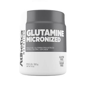 Glutamine Micronized 300g Atlhetica - Sem Sabor - 300 G
