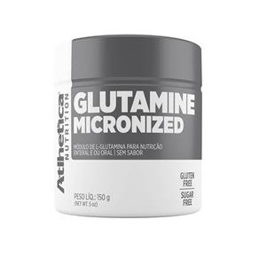 Glutamine Micronized 150g Atlhetica - Sem Sabor - 150 G