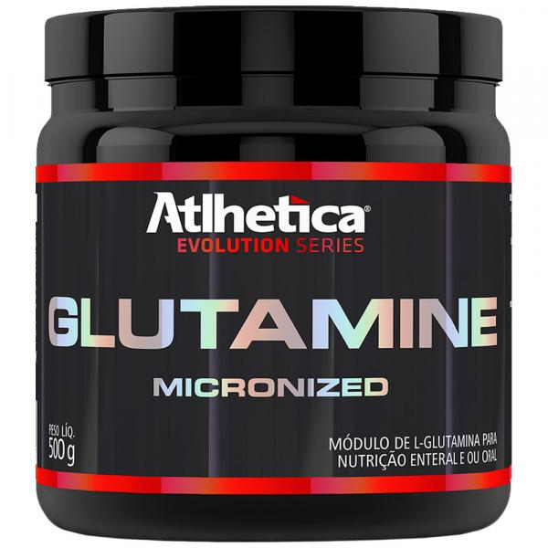 Glutamine - Micronized - 500G - Atlhetica Evolution