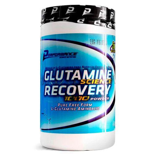 Glutamine Recovery para Recuperação Muscular 300g - Performance Nutrition