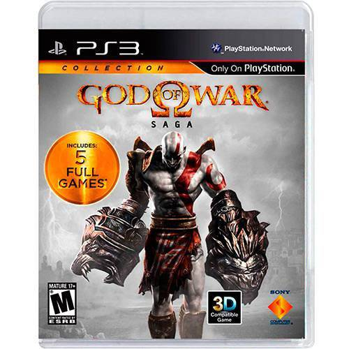 Tudo sobre 'God Of War Saga - Ps3'