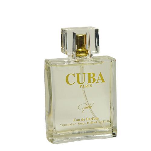 Gold Eau de Parfum Cuba Paris - Perfume Masculino 100ml