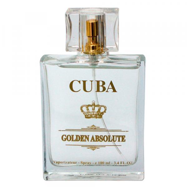 Golden Absolute Cuba Paris - Perfume Masculino - Eau de Parfum