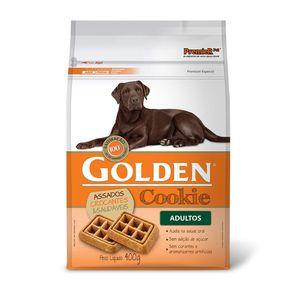 Tudo sobre 'Golden Cookie Cães Adultos 400g'