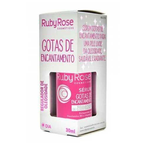 Gotas de Encantamento Ruby Rose Sérum Facial 30ml - HB-310