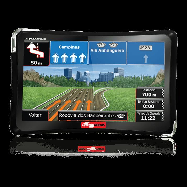 """Tudo sobre 'GPS Automotivo Quatro Rodas 4.3"""" MTC4310 Slim'"""