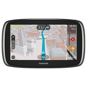 """GPS Automotivo TomTom GO 60B com Mapa Mundo*, Tela 6"""" Mapas do Brasil e com Alerta de Radares e Leitor de Cartão SD"""