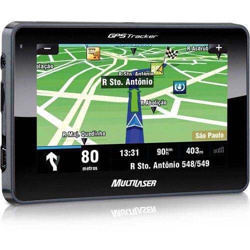 """Tudo sobre 'Gps LCD 4,3"""" Multilaser Tracker GP011'"""