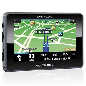 GPS Tracker III Função TTS e Tela Touchscreen 4.3, Multilaser