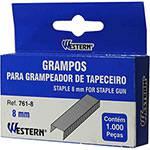 Tudo sobre 'Grampos para Grampeador de Tapeceiro 8mm - Western'