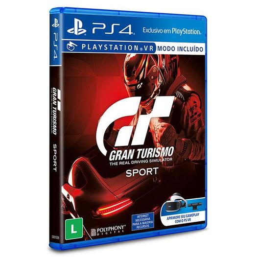 Tudo sobre 'Gran Turismo Sport - Ps4'