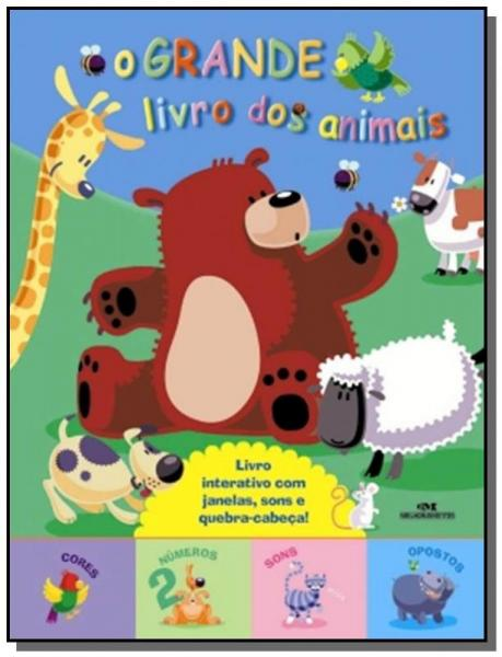 Grande Livro dos Animais, o - Melhoramentos
