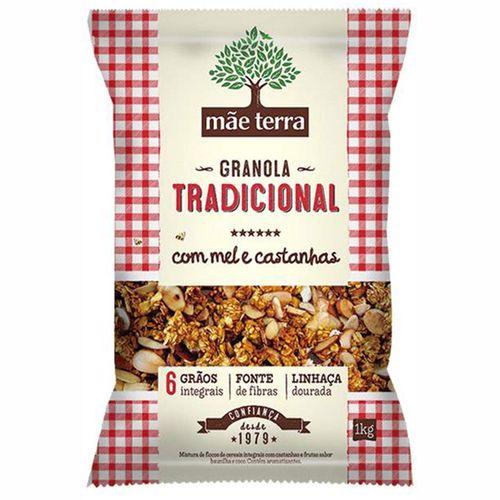 Granola Mãe Terra Tradicional 1kg Granola Mãe Terra Tradicional Pacote 1 Kg