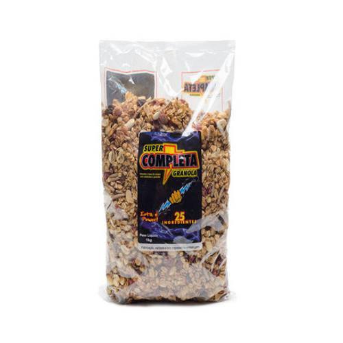 Tudo sobre 'Granola Super Completa 1kg'