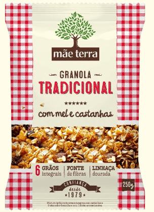 Granola Tradicional 250g - Mãe Terra