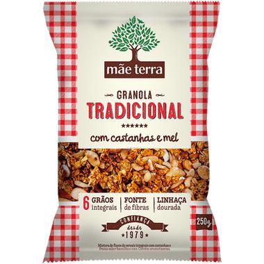 Granola Tradicional com Castanha e Mel Mãe Terra 250g