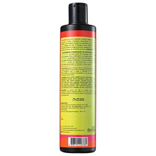 Tudo sobre 'Griffus Quero Cabelão Bombado - Shampoo 400ml'