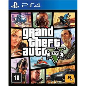 GTA - Grand Theft Auto V - PS4