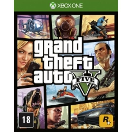 Gta - Grand Theft Auto V - Xbox One