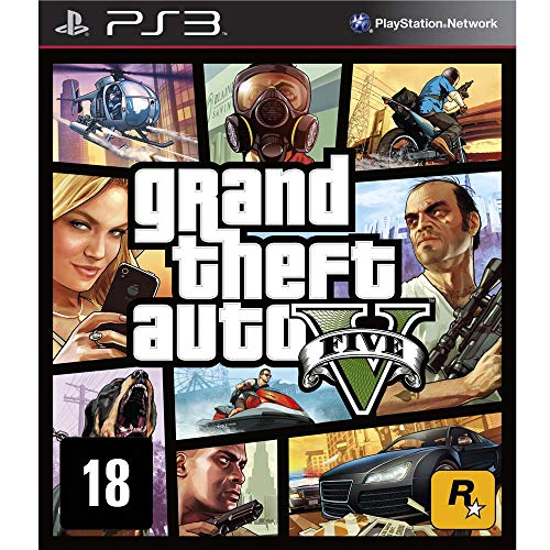 GTA V Grand Theft Auto V - PS3