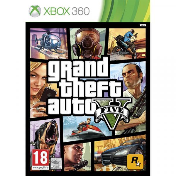 GTA V - Grand Theft Auto V - Xbox 360 - Microsoft