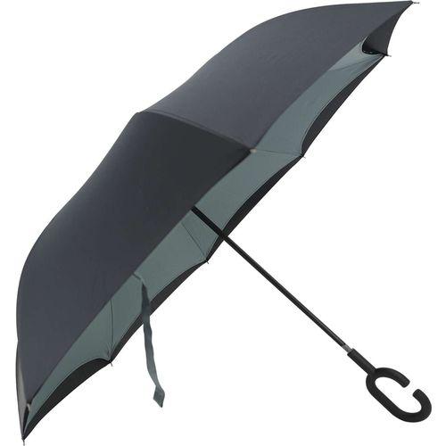 Guarda-chuva Fecha Invertido Preto Yangzi