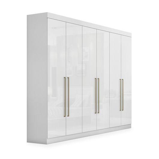 Tudo sobre 'Guarda-Roupa 6 Portas, Branco, Ravello'