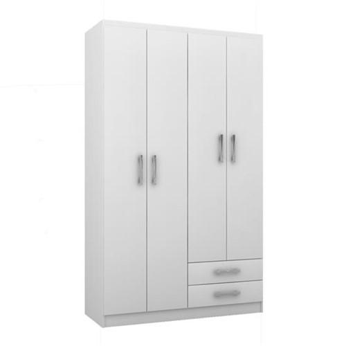 Guarda Roupa Treviso 4 Portas RP104 - Doripel Móveis | Elare