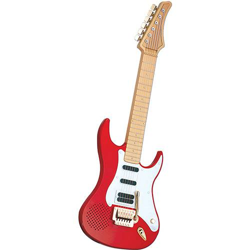 Tudo sobre 'Guitarra Eletrônica DTC Vermelha'